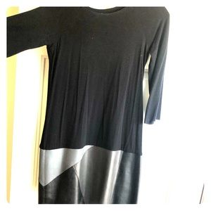 Bailey 44 leather genuine leather dress